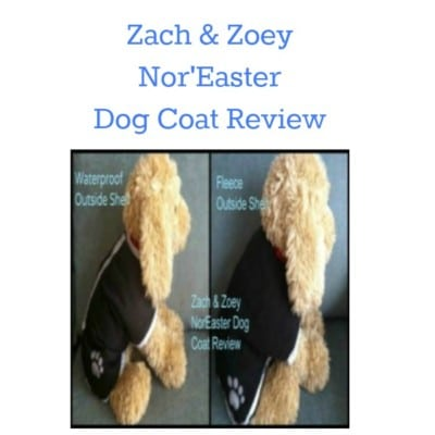 Great little dog coat! Adjustable fit for all sizes. Zach & Zoey Nor'Easter dog coat.