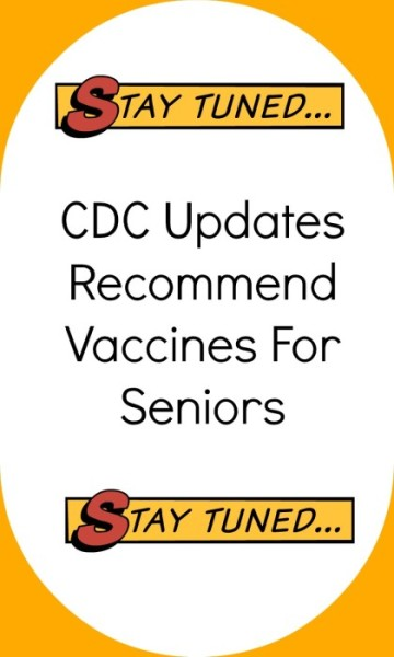 Recommended Senior Citizen Vaccines