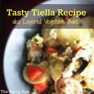 Perfect For Your Summer Garden! Authentic Tiella Recipe