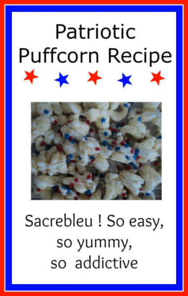 Puff It Up this summer with a quick and easy puffcorn recipe!