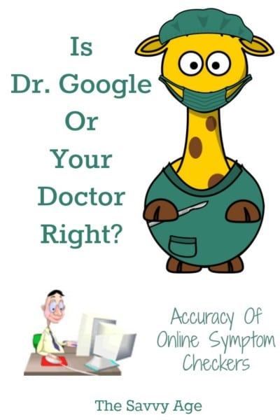 Is Dr. Google or your Doctor Right? Accuracy of Online Symptom Checkers for your health.