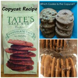 Copycat recipe & Review: Tate's Bake Shop Chocolate Chip Cookies