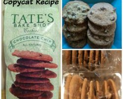 Review: Copycat recipe Tate's Bake Shop Chocolate Chip Cookies