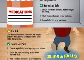 Senior Safety Tips Infographic