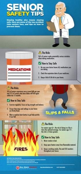Senior safety tips.