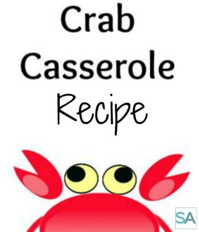 Crab Bake Casserole Recipe