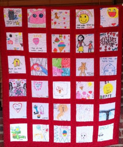 classroom quilt DIY