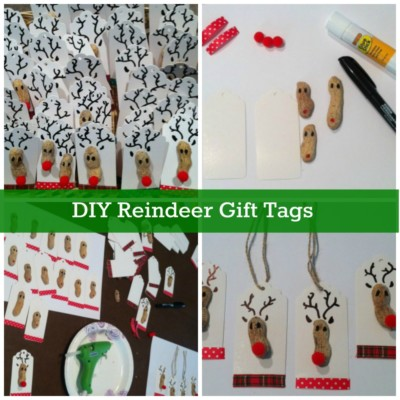 Easy to make personalized Christmas gift tags!