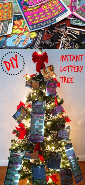 The Lottery Ticket tree is a fun gift anytime of the year!