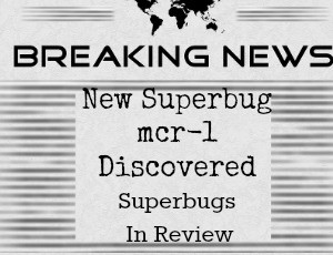 New Superbug mcr-1 and Superbugs In Review