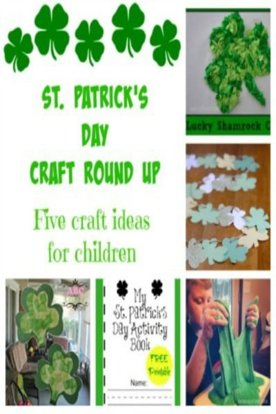 Easy St. Patricks Day crafts for kids!