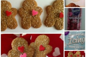 Valentine's Hack Gingerbread Cookies