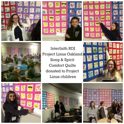 Enjoy our classroom quilt project made by 425 seventh graders and volunteer quilters for Project Linus. Find our more about this intergenerational community service project!