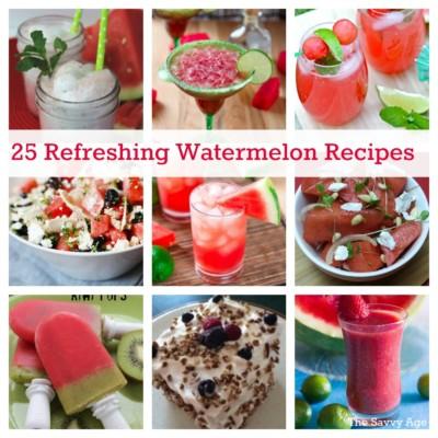 25 Delicious Watermelon Recipes