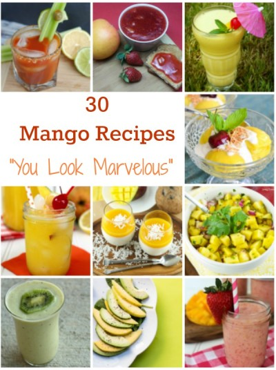 30 Mango recipes to enjoy anytime of the year! Fat free, cholesterol free and low oxalate.