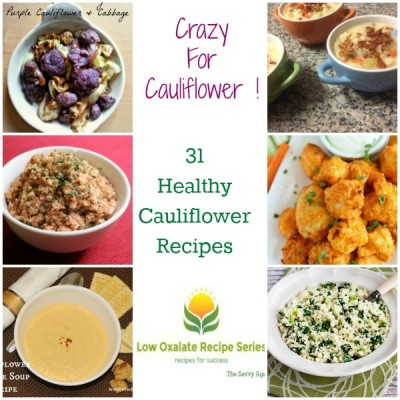 Crazy For Cauliflower! 31 Delish Cauliflower Recipes