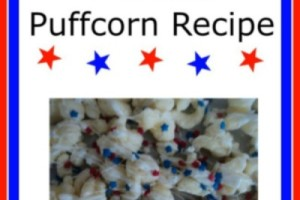 Patriotic Puffcorn Recipe