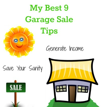 My 9 Best Garage Sale Tips For Success
