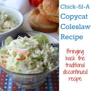 Copycat Chick-fil-A Coleslaw Recipe