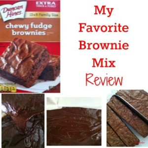 Duncan Hines Chewy Fudge Brownies Review