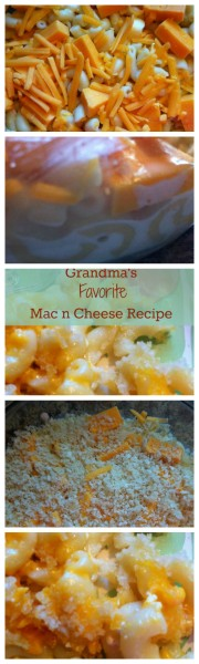 Grandma's Favorite Mac n Cheese recipe. Fast, flexible and easy family recipe.