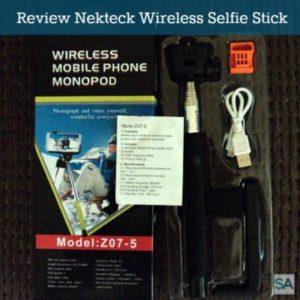 Review: Nekteck Monopod Z07-5 Wireless Selfie Stick
