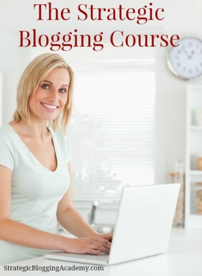 Review of Strategic Blogging Intensive Course. Registration is open!