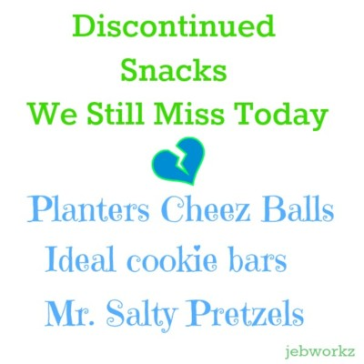 Discontinued Snacks We Miss! Mr. Salty! Cheez Balls!