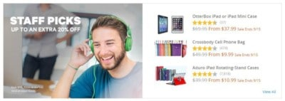 The staff picks by Groupon Goods offer extra savings.