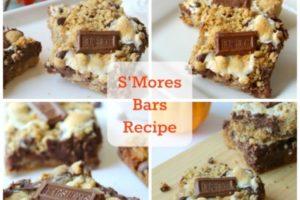 Scrumptious S'mores Bars