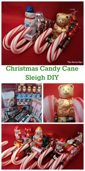 Christmas Crafts Santa Sleigh