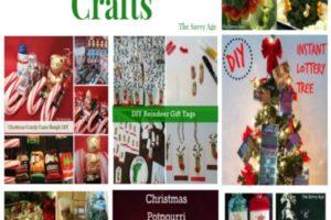 Christmas Craft Collection – 7 Easy DIY For The Season