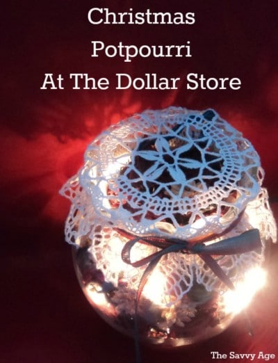 Christmas Potpourri DIY at the Dollar Store!