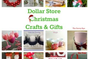 DIY Dollar Store Christmas Crafts & Gifts