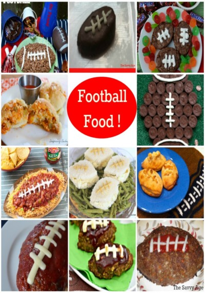 Football food for game day! Score with these easy and delicious recipes.