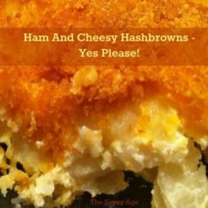 Leftover Ham And Cheesy Hashbrowns – Yes, Please!