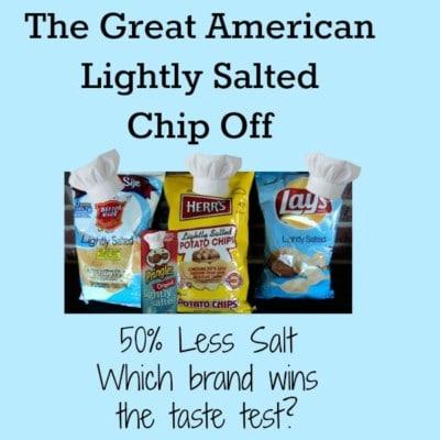 Taste Test & Reviews: Lightly Salted Potato Chips