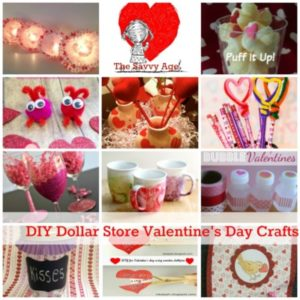 DIY Dollar Store Valentine's Day Crafts & Gifts
