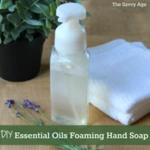 Foam It Up! DIY Essential Oils Foaming Hand Soap