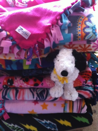 no sew dog and cat fleece blankets