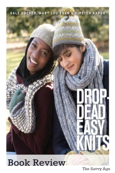 Drop Dead Easy Knits Book Review. A book by knitters for real knitters.