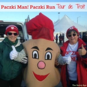 It's Paczki Man! Celebrating The Paczki & Tour de Troit Paczki Run
