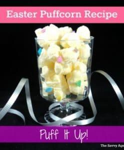 Puff It Up! No Bake Easter Puffcorn Recipe