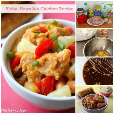 YummyAloha Hawaiian Chicken recipe! Serve alone or over rice.