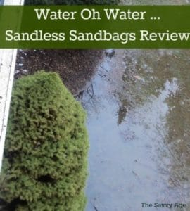 Water Oh Water : Quick Dam Sandless Sandbags – Flood Bags Review