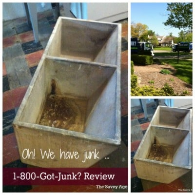 Oh we had junk! Review of 1 800 Got Junk? removal service.