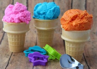in process 3 ice cream playdough