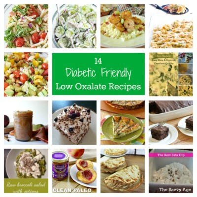 14 Diabetic Friendly Low Oxalate Recipes