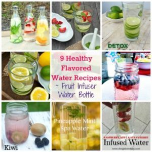 Drink Up! 9 Fun Flavored Water Recipes