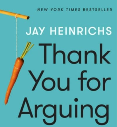 Book Review: Thank You For Arguing